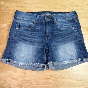 American Eagle stretch shorts size 8